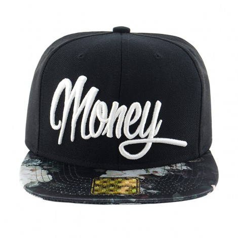 BONE ABA RETA SNAPBACK YME5021 MONEY FLORAL