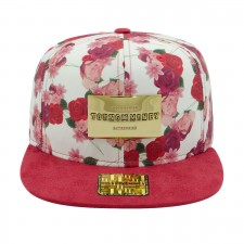 BONE ABA RETA YOUNG MONEY SNAPBACK FLORAL RED GOLD SERIES