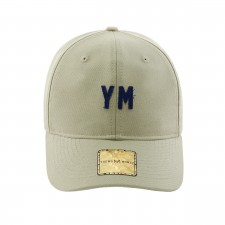 BONE ABA CURVA YOUNG MONEY SNAPBACK DAD HAT YM BLUE