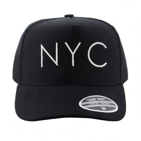 BONE ABA CURVA YOUNG MONEY SNAPBACK 3107 NYC PRETO