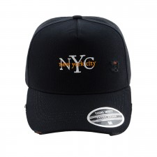 BONE ABA CURVA STRAP NEW YORK CITY PRETO