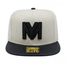 BONE ABA RETA YOUNG MONEY SNAPBACK ALLIGATOR BLACK