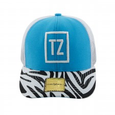 BONE ABA RETA YOUNG MONEY SNAPBACK TATI ZAQUI AZUL