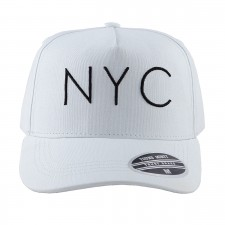 BONE ABA CURVA SNAP NYC BRANCO