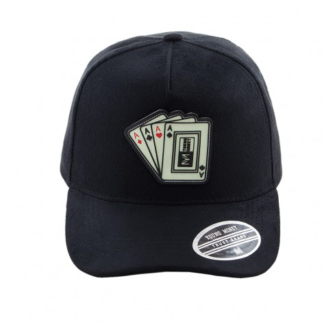 BONE ABA CURVA YOUNG MONEY STRAPBACK YME3115 CARTAS